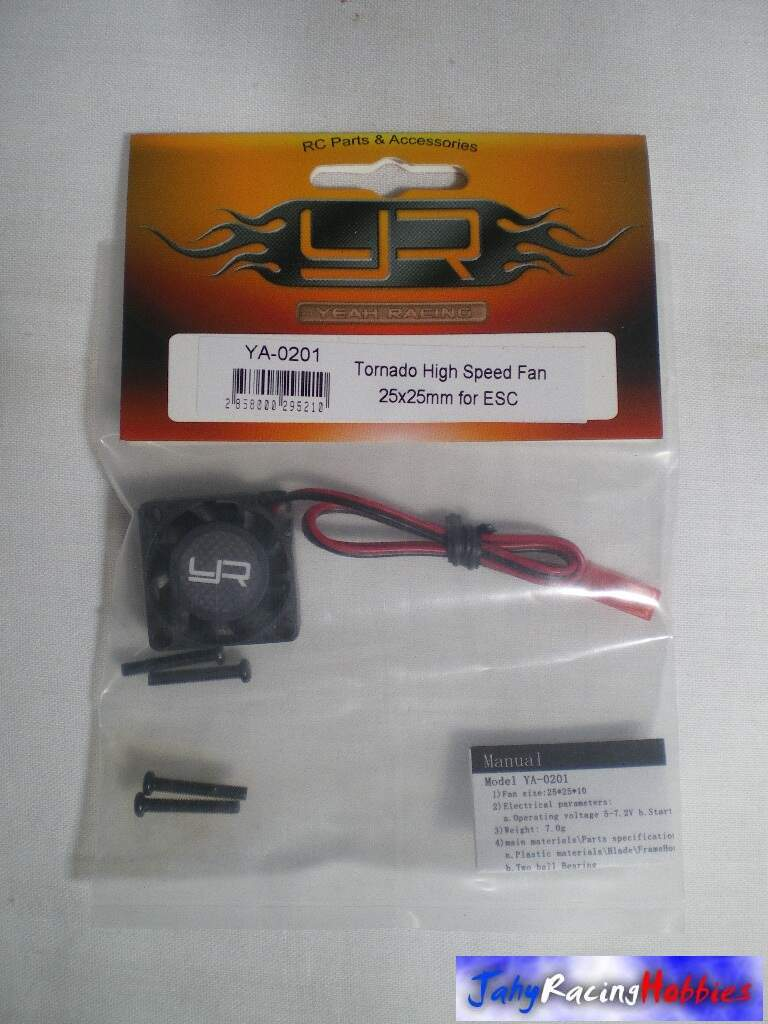 Cooler 25mm x 25mm Tornado para Speed Yeah Racing