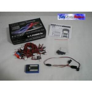 Kit Luzes RC Car Flashing Light GT Power RC