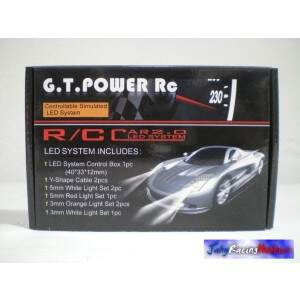 Kit Luzes RC Car Car 2.0 Led System GT Power RC