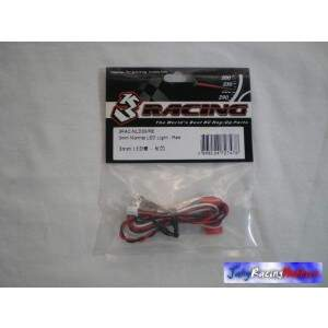 Par de Leds Vermelhos 3mm 3 Racing