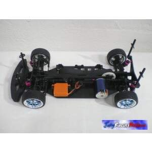 Honda Civic Azul Fibra e Brushless 9.0 RTR By Jahy
