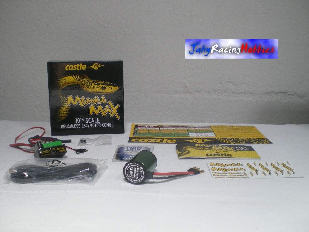 Kit Speed e Motor Brusheless 7700 Mamba