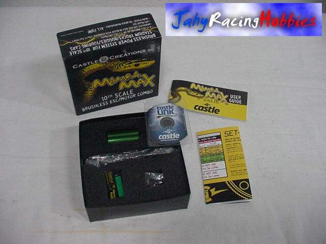 Kit Speed e Motor Brusheless 5700 Mamba