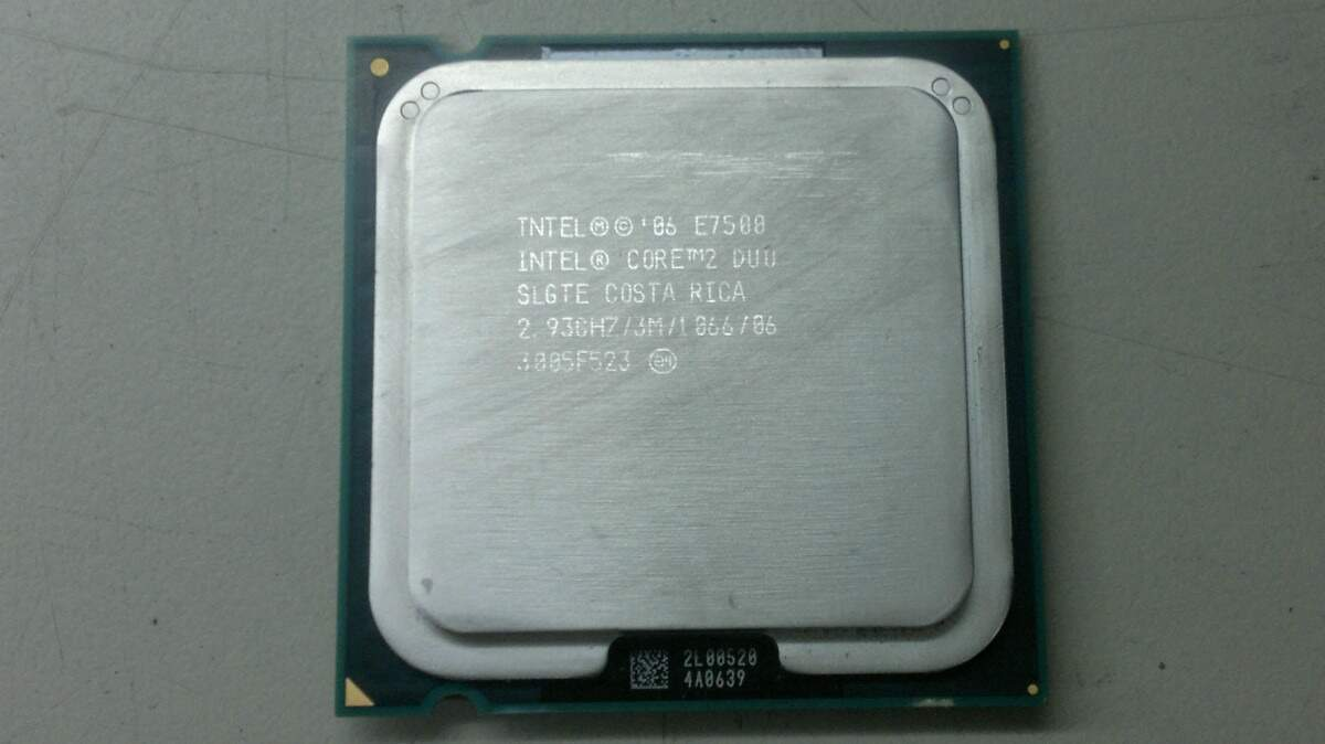 PROC INTEL CORE 2 DUO E7500 OEM