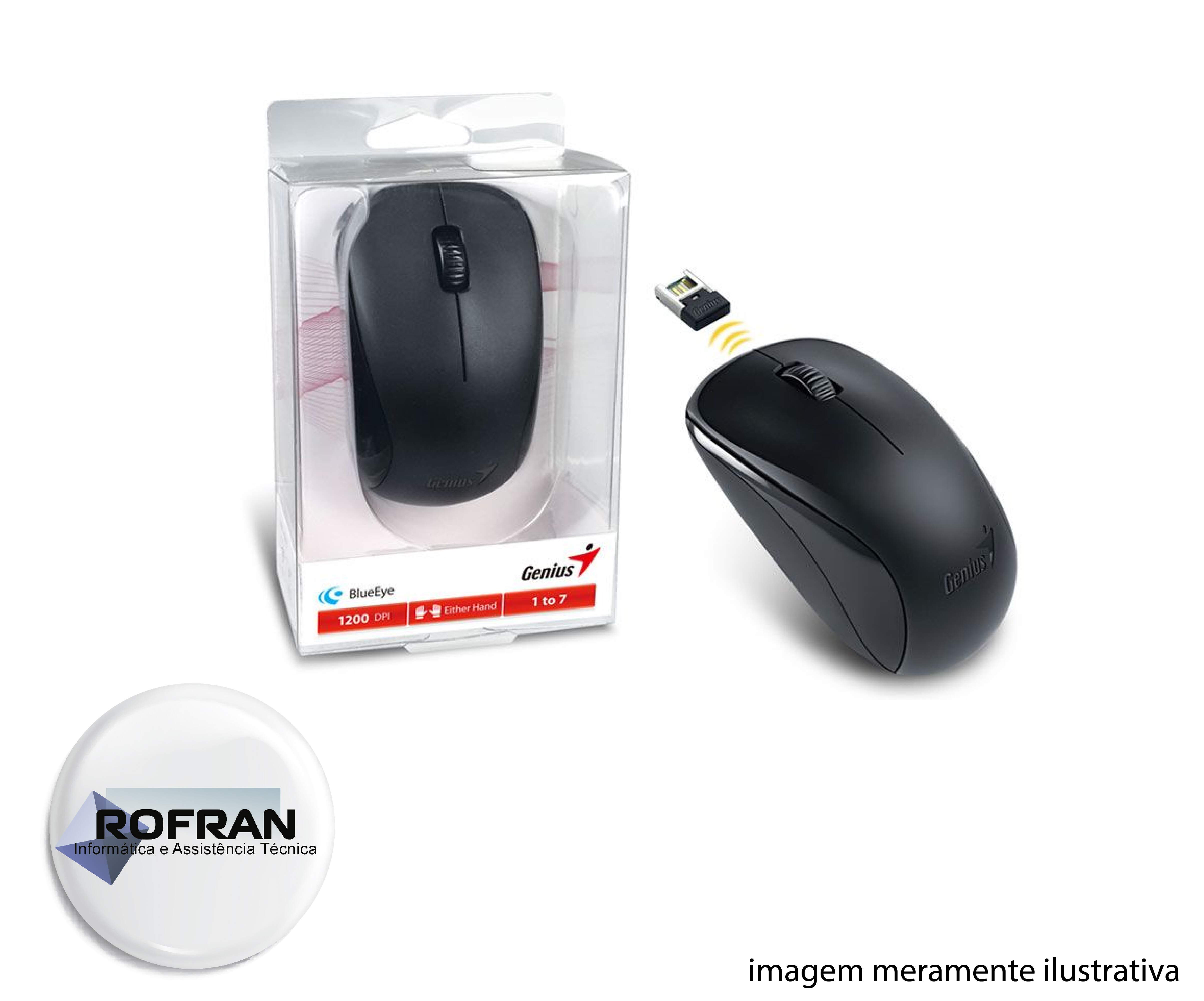 Mouse Sem Fio Genius Nx 7000 - Wireless / Wifi