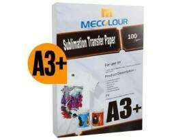 PAPEL TRANSFER SUBLIMÁTICO MECOLOUR A3+ (50FLS)