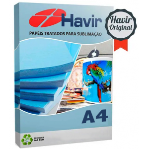 Papel Transfer Sublimático Havir A4 (100fls)