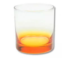 COPO WHISKY DEGRADE AMARELO (350 ml)