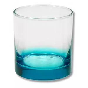 COPO DE WHISKY DEGRADE AZUL (350ml)