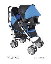 Travel System Cross Azul
