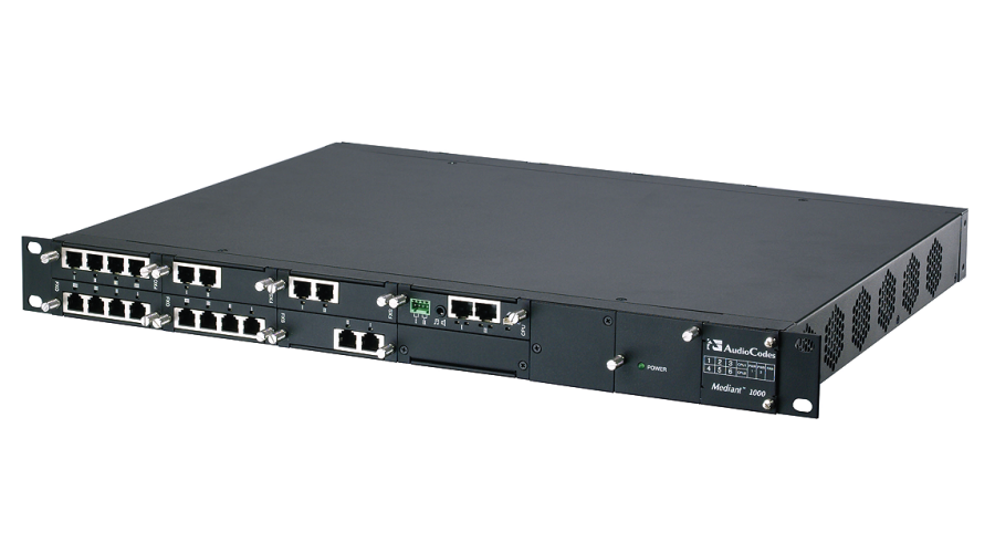 AudioCodes Mediant 1000 E-SBC e Media Gateway
