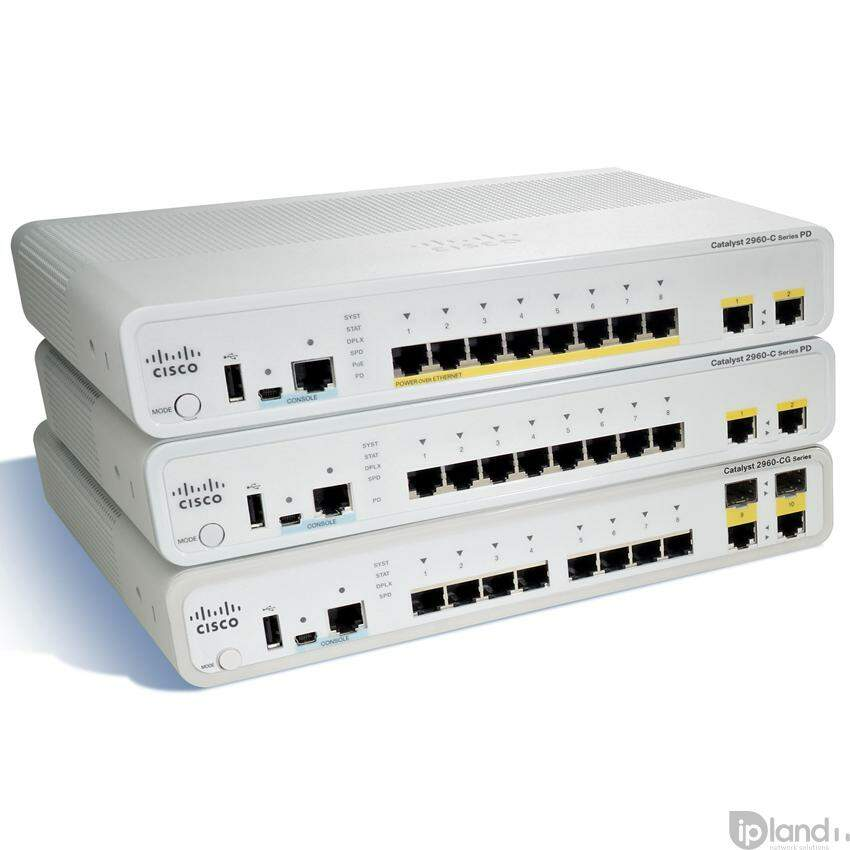 Cisco Catalyst WS-C2960C-8PC-L