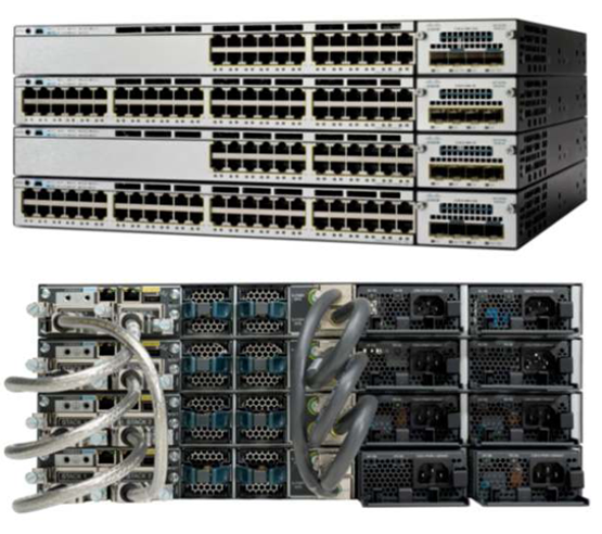 Cisco Catalyst 3750X 48 Port PoE LAN Base