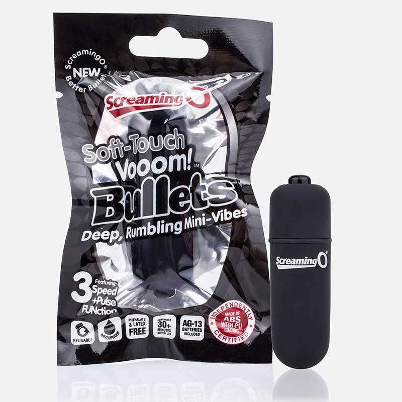 Vibrador Bullet - Soft-Touch Vooom - Screaming O