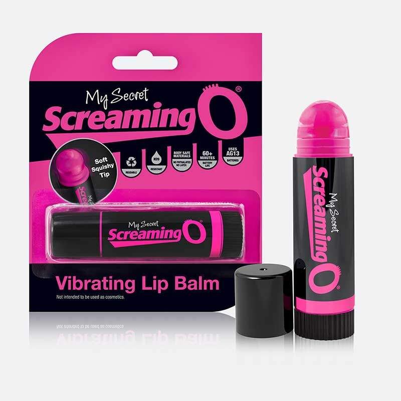 Vibrador em Formato de Bálsamo Labial - Lip Balm - Screaming O