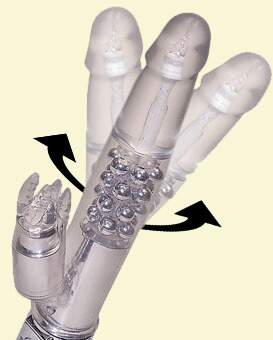 Vibrador Rabbit Ultimate - Cristal