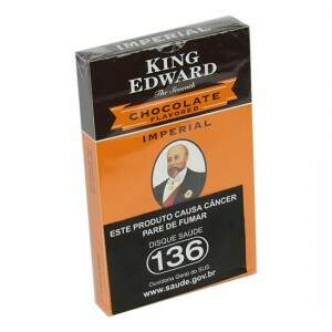 Charuto King Edward Imperial Chocolate caixa c/5