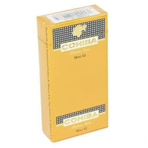 Cigarrilha Cohiba Mini caixa com 10