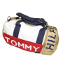 Tommy Hilfiger Mini Logo Duffle Bag Cream