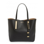 Michael Kors Large Jaryn Leather Tote Preta
