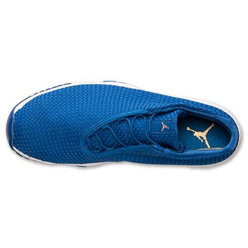 Tênis Nike Masculino Air Jordan Future Flight Azul com Branco - Varsity Royal/Varsity Royal/White