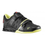 Tênis Reebok Feminino CrossFit Lifter Plus 2.0 Preto com Verde - Black/High Vis Green