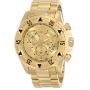 Relógio Invicta 6471 Excursion Reserve Chronograph 18k Gold Ion-Plated Stainles Dourado