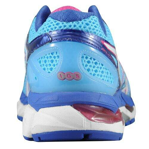 Asics Kayano 21 Feminino Azul, Branco e Rosa - Powder Blue/White/Hot Pink