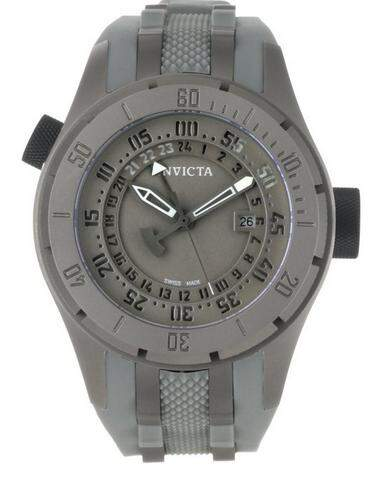 Relógio Invicta 0227 Force Collection Grey Dial Grey Titanium and Rubber
