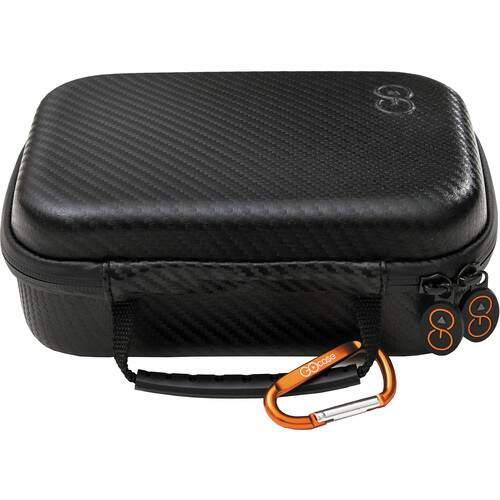 Capa GOcase GoPro Case with Dividers and Accessory Straps for GoPro HERO