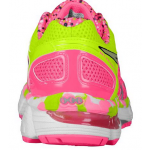 Asics Kayano 21 Infantil Rosa com Amarelo - Hot Pink/Lightning/Flash Yellow FEMININO