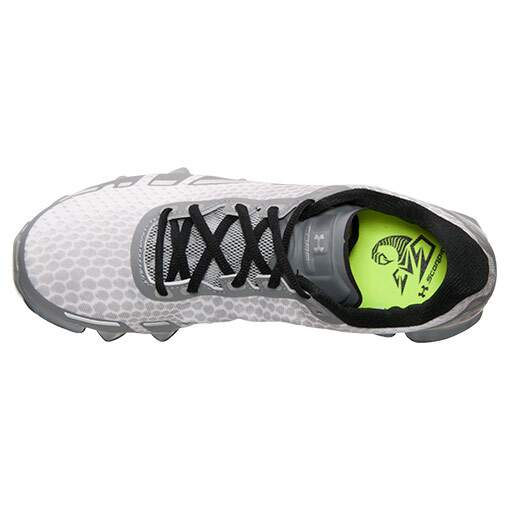 Tênis Under Armour Masculino Scorpio Branco com Cinza - White/Steel/Metallic Silver