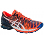 Asics Kinsei 5 Masculino Laranja com azul e branco - Flash Orange/White/Royal