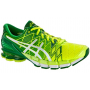 Asics Kinsei 5 Masculino Amarelo com verde e branco - Flash Yellow/White/Green