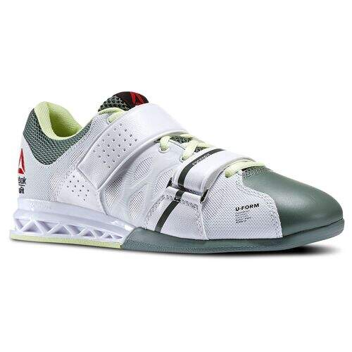 Tênis Reebok Crossfit Lifter Plus 2.0 White / Silvery Green / Citrus