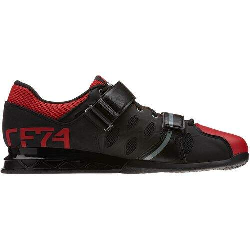 Tênis Reebok Crossfit Lifter Plus 2.0 Preto com Vermelho - Black / Excellent Red / Flat Grey