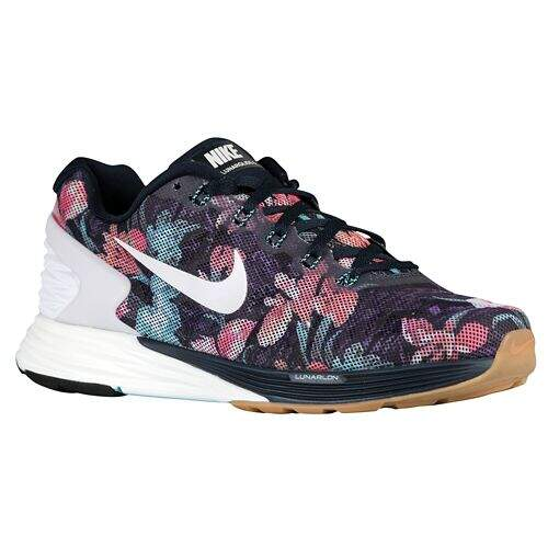 Tênis Nike Feminino Zoom LunarGlide 6 Roxo - Dark Obsidian/Summit White/Light Aqua
