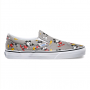 Tênis Vans Disney Slip-On Feminino Mickey Cinza -  Mouse/frost gray