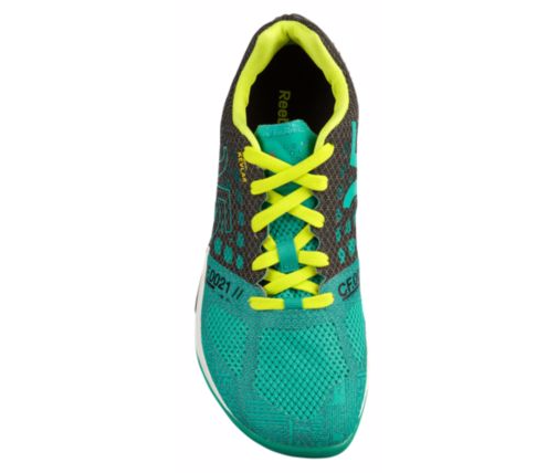 Tênis Reebok CrossFit Nano 5.0 Feminino Verde e Preto - Glass Green/Black/Semi Solar Yellow