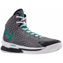 Tênis Under Armour Masculino Charged Foam Curry 1 Cinza - White/Black/Persian