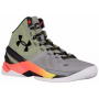 Tênis Under Armour Masculino Curry 2 Cinza - Steel/Sunbleached/Black
