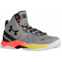 Tênis Under Armour Infantil Curry 2 Cinza - Steel/Sunbleached/Black FEMININO