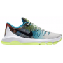 Tênis Nike Masculino KD VIII 8 Branco - Summit White/Anthracite/Lunar Grey/Lt Liquid Lime