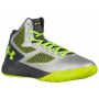 Tênis Under Armour Masculino Clutchfit Drive 2 Cinza - Metallic Silver/Graphite/Hi Vis Yellow