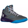 Tênis Under Armour Masculino Clutchfit Drive 2 Cinza - Graphite/Purple/Capri