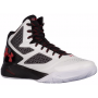 Tênis Under Armour Masculino Clutchfit Drive 2 Branco  -  White/Black/Red