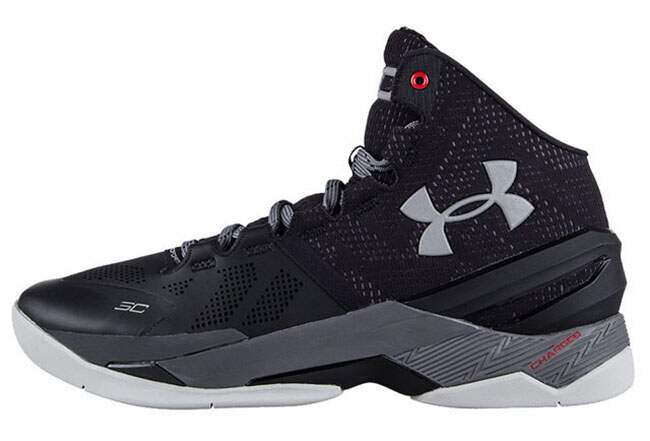 Tênis Under Armour Infantil Curry 2 Preto - Black/Graphite/Msv FEMININO