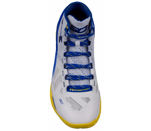 Tênis Under Armour Masculino Curry 2 - White/Team Royal