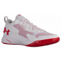 Tênis Under Armour Clutchfit Drive 2 Low Masculino - White/White/Red