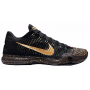 Tênis Nike Kobe 10 Elite Low Masculino - Black/Metallic Gold/Bright Crimson